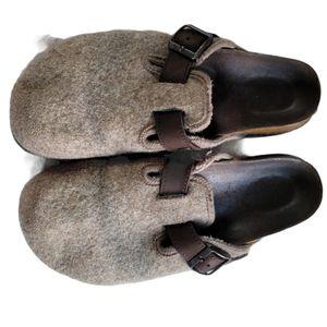 Birkenstock Wool Beulah Clogs Ladies 10